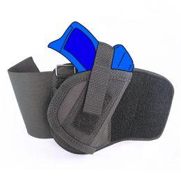 Ankle Holster - Right Handed for Smith & Wesson - S&W M&P Shield 45 with 3.3 inch barrel with Laser
