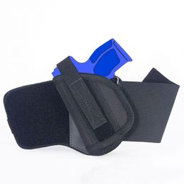 Ankle Holster - Left Handed for Ruger American Compact 9mm with 3.55 inch barrel with Laser