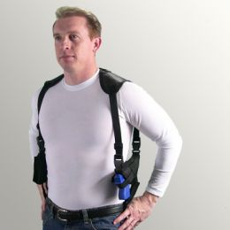 Horizontal Shoulder Holster for Smith & Wesson - S&W 19 with 4 inch barrel (6 shot)