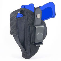 Belt and Clip Side Holster for Bersa Thunder Pro Ultra Compact 45 with 3.6 inch barrel