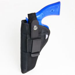 Belt and Clip Side Holster for Smith & Wesson - S&W 19 with 4 inch barrel (6 shot)