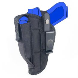 Belt and Clip Side Holster for FN FNP-45 Tactical with 5.3 inch barrel with Laser