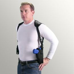 Vertical Shoulder Holster for Kimber Royal II with 5 inch barrel