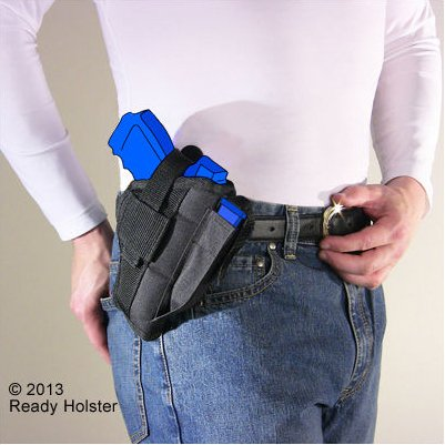 Belt and Clip Side Holster