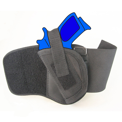 Ankle Holster - Left Handed for Kimber Micro 9 with 3