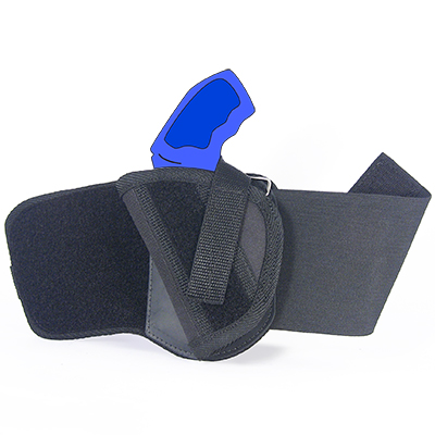 Ankle Holster - Left Handed for Ruger LCR with 1 87
