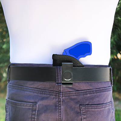 Concealed IWB Holster for Smith & Wesson - S&W Bodyguard 38 (5 shot) with  Laser