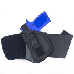 Ankle Holster - Left Handed for CZ P-07 Duty with 3.8 inch barrel with Laser