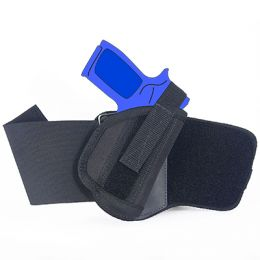 Ankle Holster - Right Handed for CZ P-07 Duty with 3.8 inch barrel with Laser