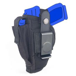Belt and Clip Side Holster for Walther P22 with 3.4 inch barrel