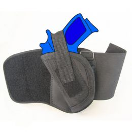 Ankle Holster - Left Handed for Kimber Micro 9 with 3 inch barrel
