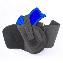 Ankle Holster - Left Handed for Walther P22 with 3.4 inch barrel with Laser