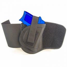 Ankle Holster - Right Handed for Colt Mustang XSP with 2.82 inch barrel with Laser