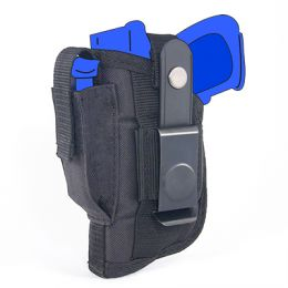 Belt and Clip Side Holster for Kahr PM9 with Laser