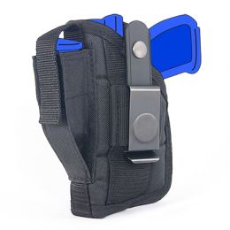 Belt and Clip Side Holster for Ruger SR40 with 4.15 inch barrel with Tac Light