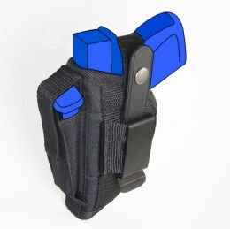 Belt and Clip Side Holster for Smith & Wesson - S&W 908 with 3.5 inch barrel