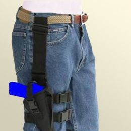 Tactical Thigh Holster - Right Handed for Kimber Ultra TLE II with 3 inch barrel