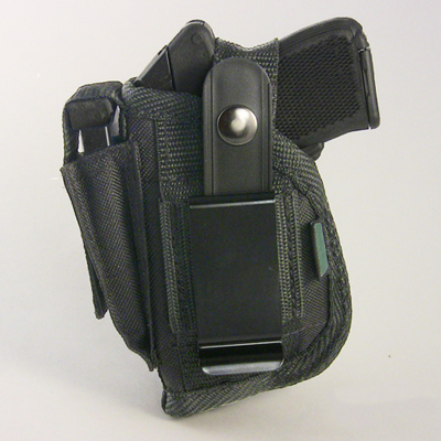 Belt and Clip Side Holster for Ruger LCP ( 380) with Crimson Trace  Laserguard