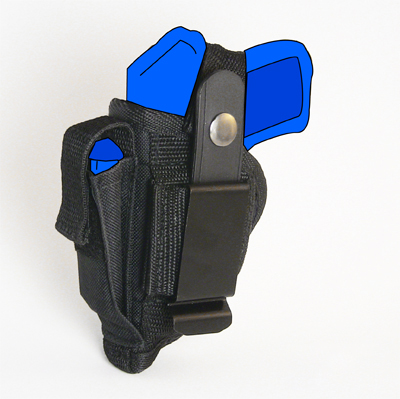 Belt and Clip Side Holster for Kimber Micro CDP 380 with 2 75
